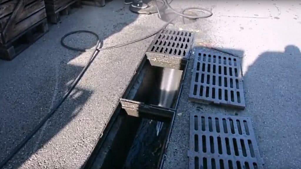 Чистка гидродинамическим методом