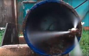 Удаление засоров канализации