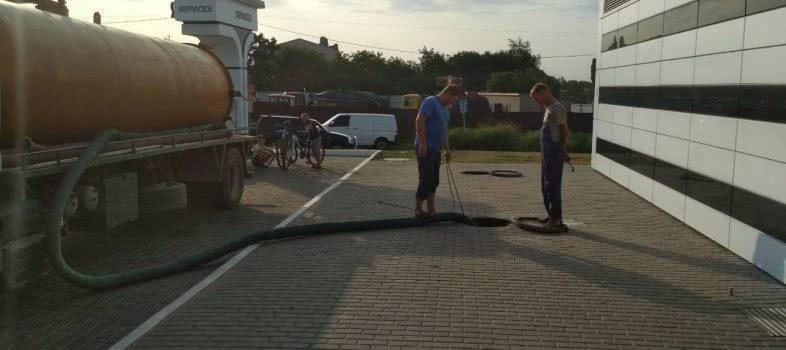 Прочистить канализационную трубу