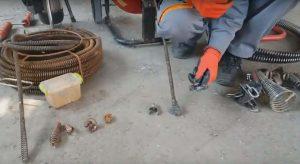 ерш для чистки труб канализации